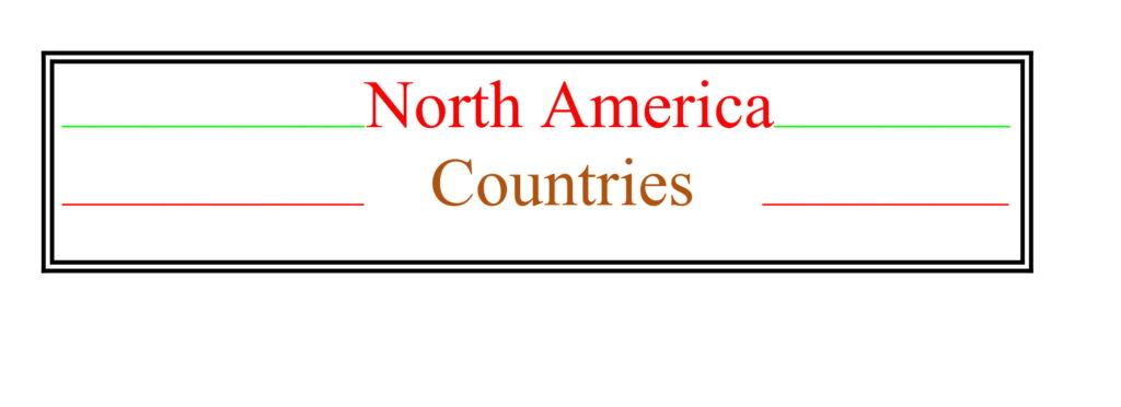 Universities of North America Countries