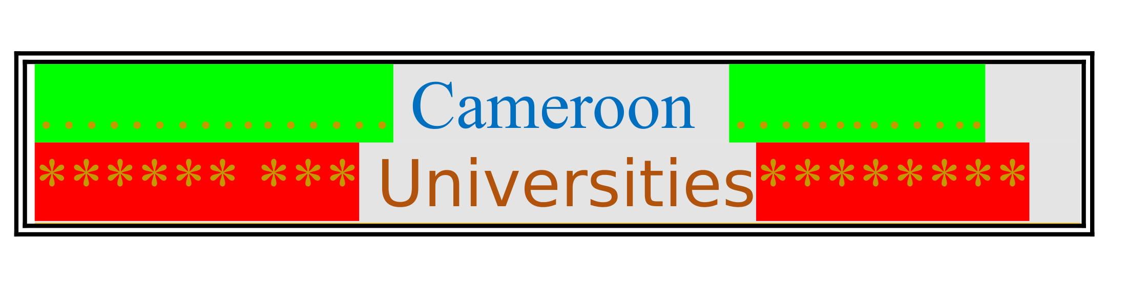 List of Cameroon Universities