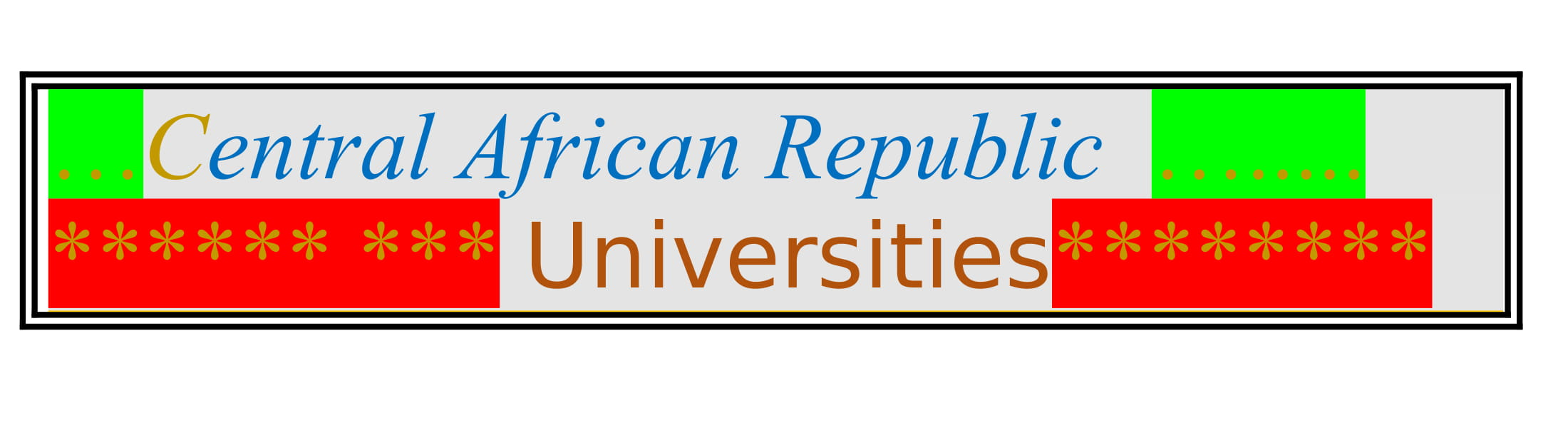 List of Universities in Central African Republic