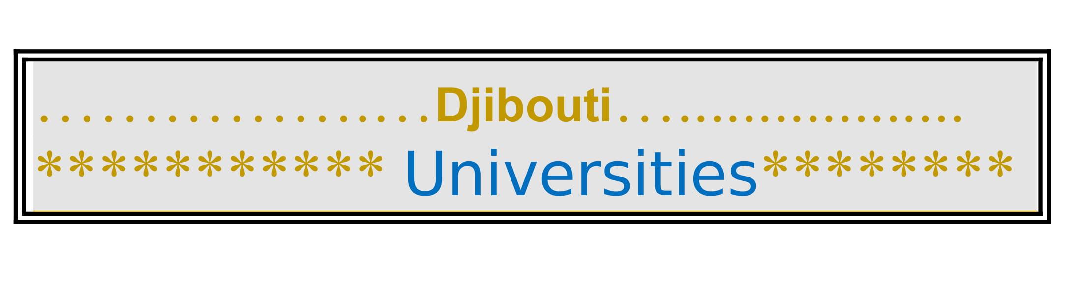 List of Universities in Djibouti