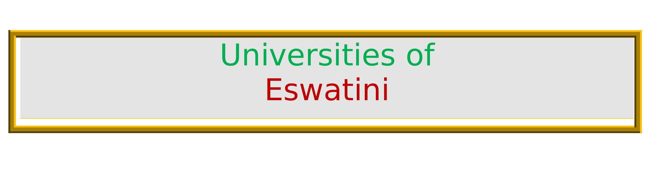 List of Universities in Eswatini