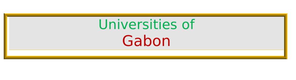 List of Universities in Gabon