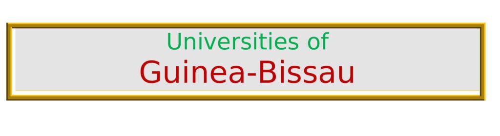 List of Universities in Guinea-Bissau