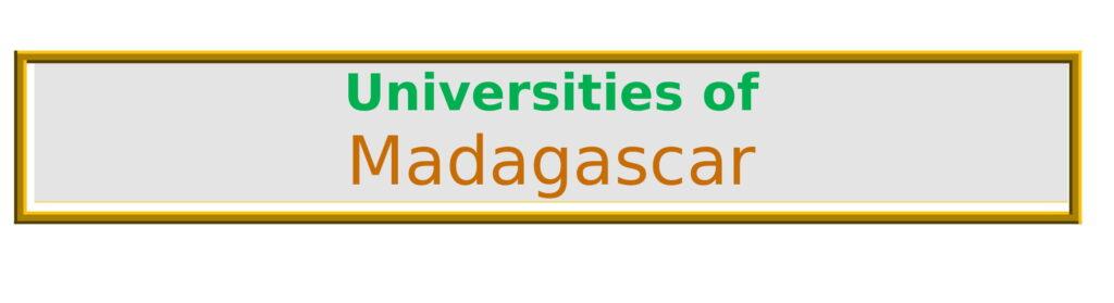List of Universities in Madagascar