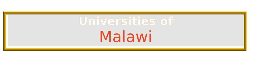 List of Universities in Malawi