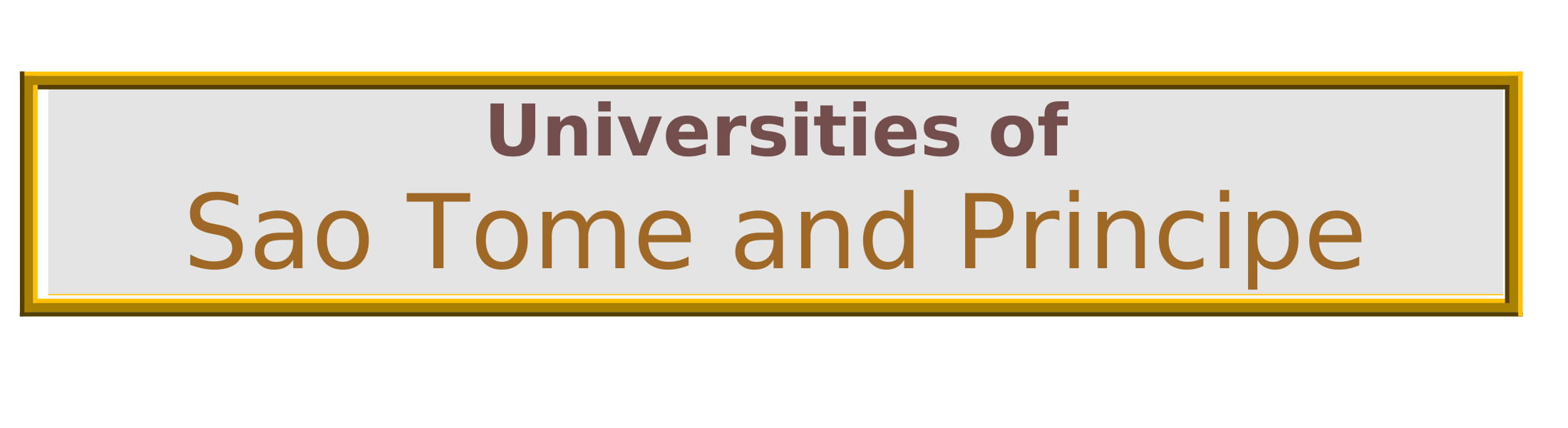 List of Universities in Sao Tome and Principe