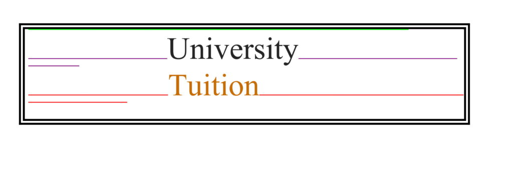 University of Oxford Tuition