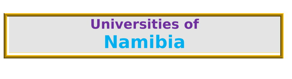 List of Universities in Namibia