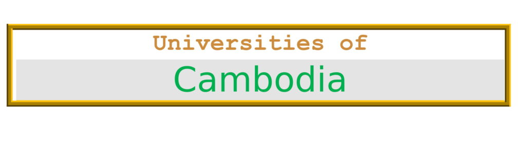 List of Universities in Cambodia