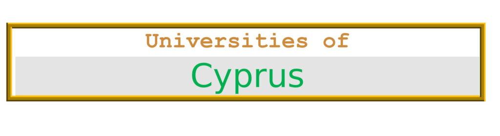List of Universities in Cyprus