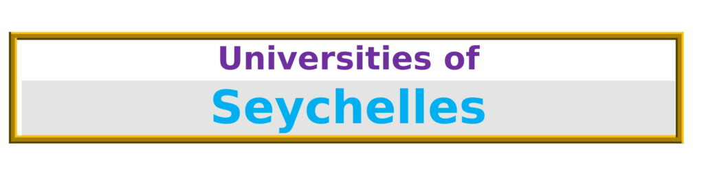 List of Universities in Seychelles
