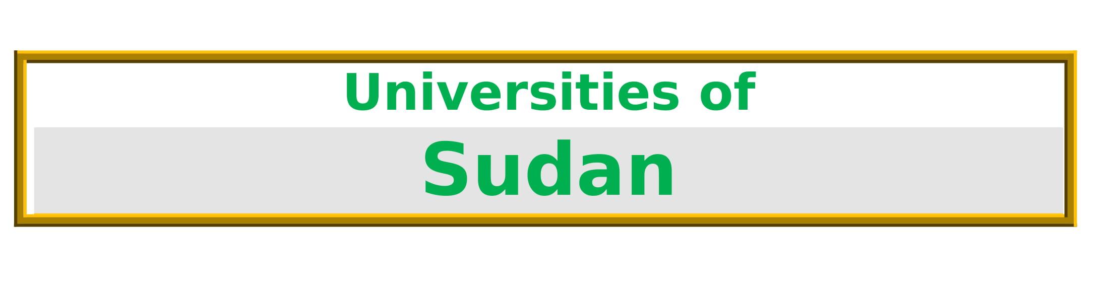 List of Universities in Sudan