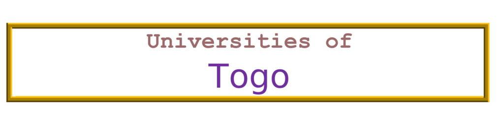 List of Universities in Togo