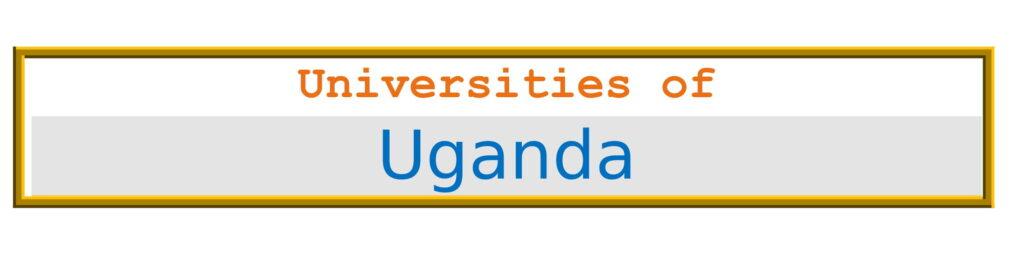 List of Universities in Uganda
