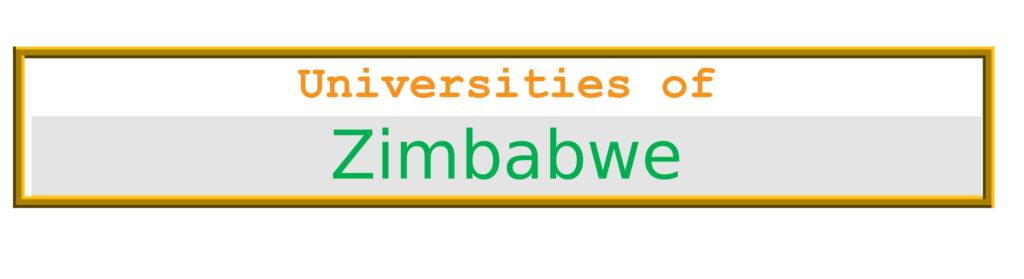 List of Universities in Zimbabwe
