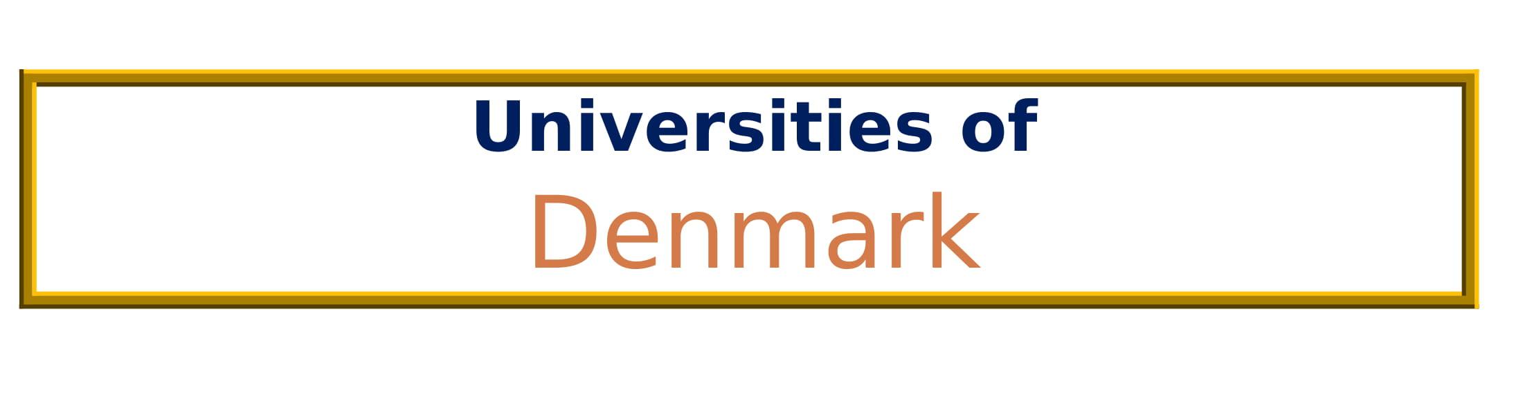 List of Universities in Denmark