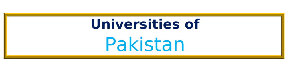List of Universities in Pakistan