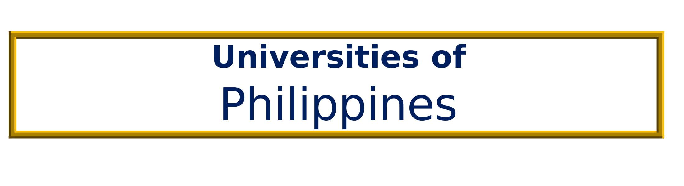 List of Universities in Philippines