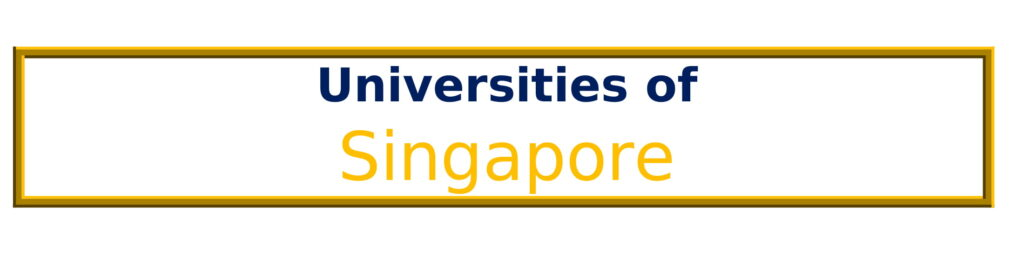 List of Universities in Singapore