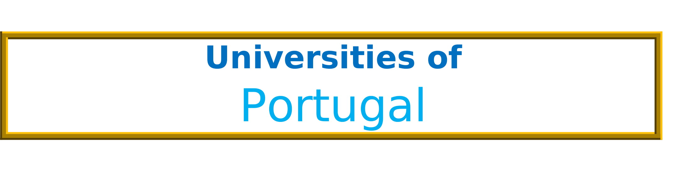 List of Universities in Portugal