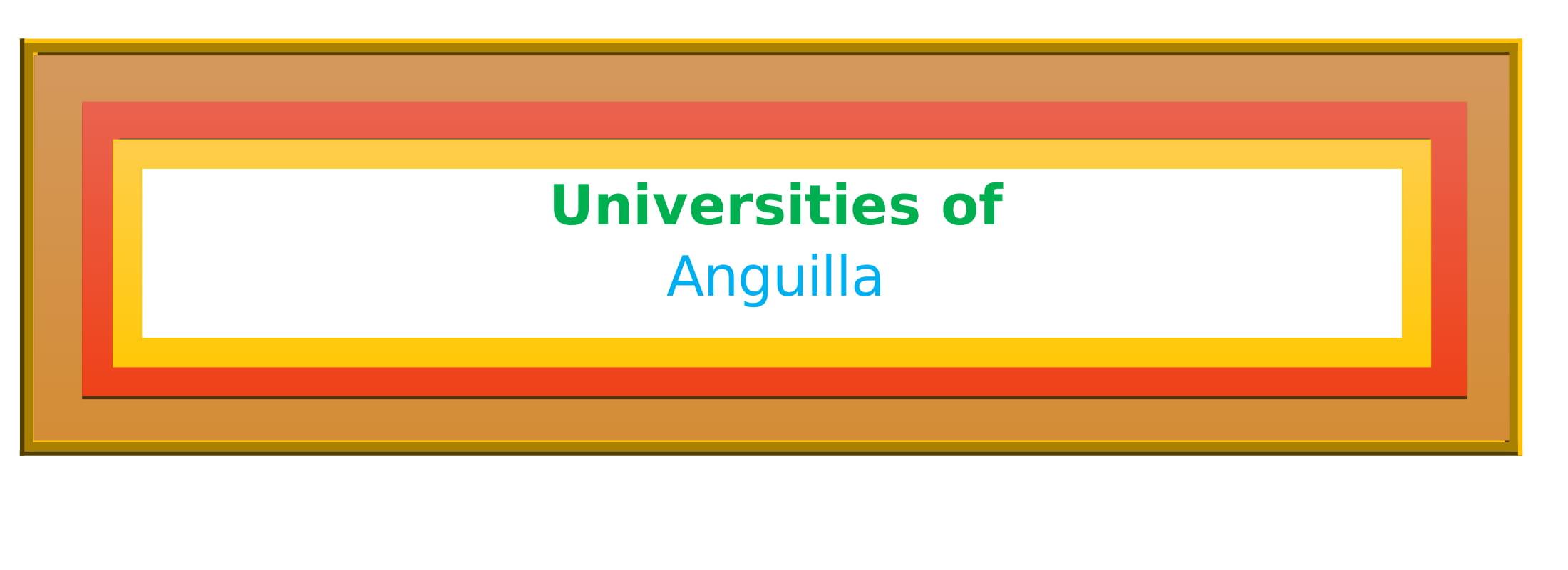 List of Universities in Anguilla