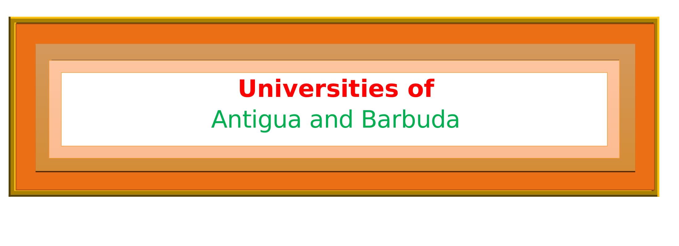 List of Universities in Antigua and Barbuda