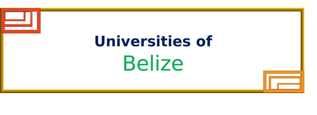 List of Universities in Belize