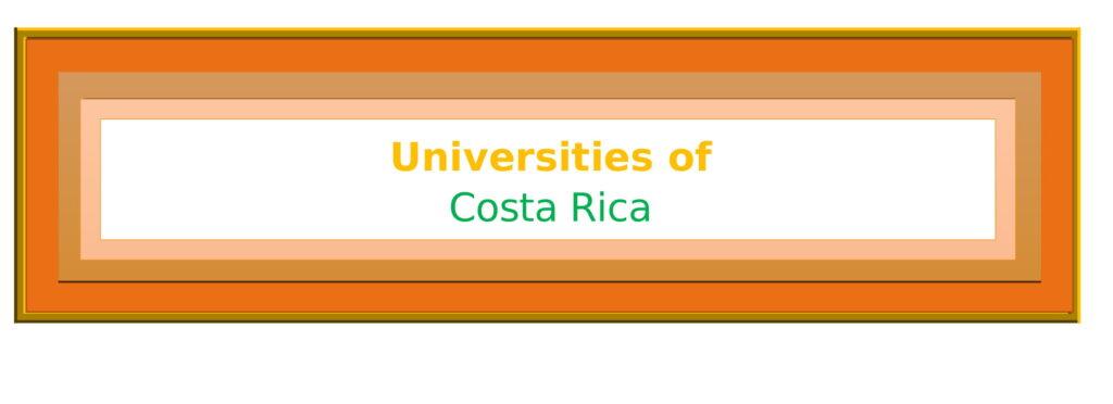 List of Universities in Costa Rica