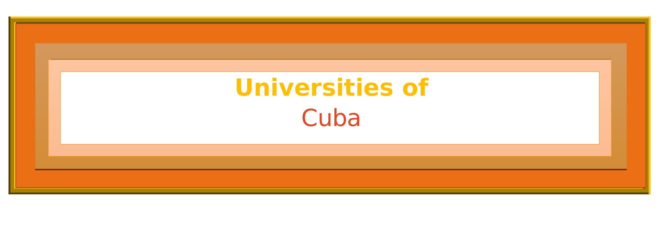 List of Universities in Cuba