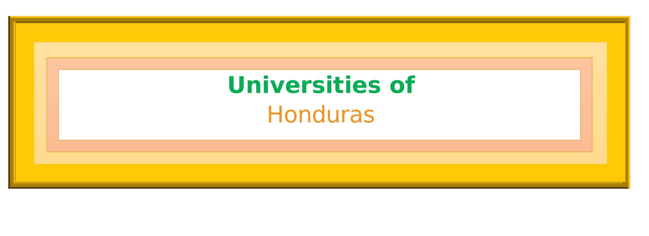 List of Universities in Honduras
