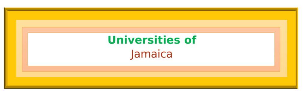 List of Universities in Jamaica