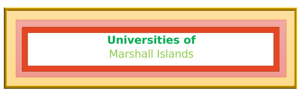 List of Universities in Marshall Islands