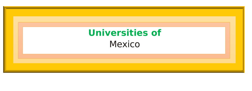 List of Universities in Mexico