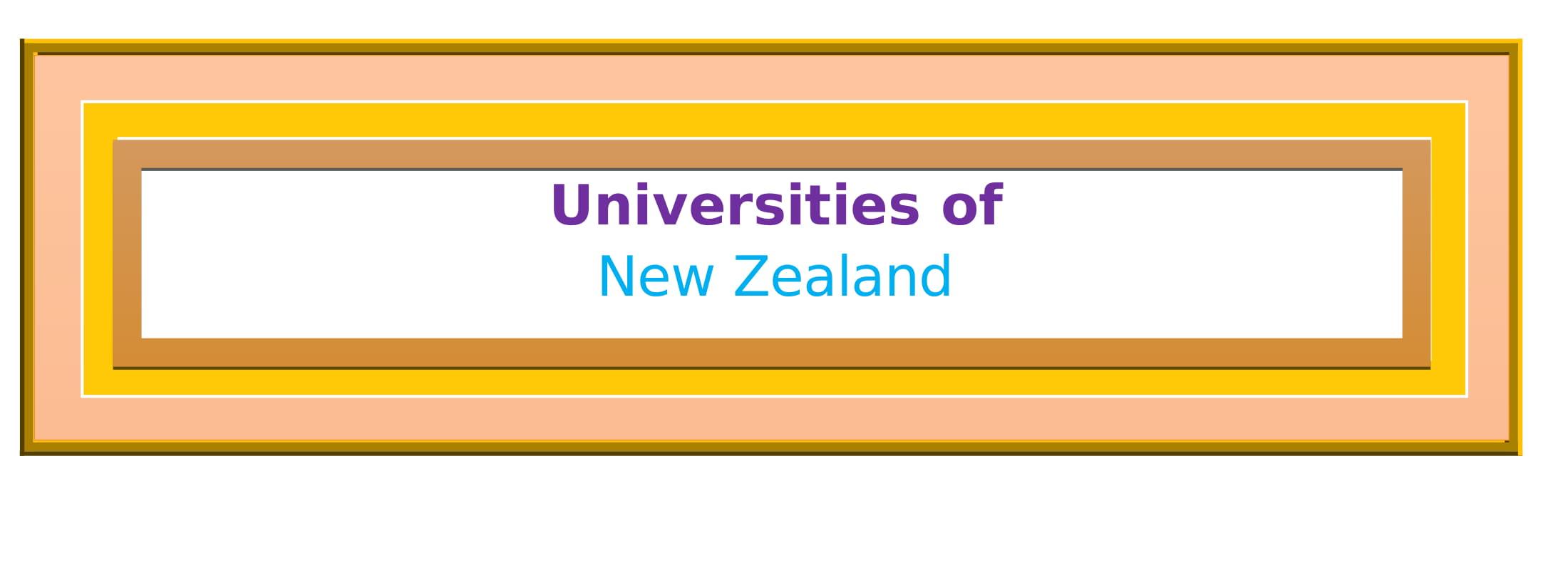 List of Universities in New Zealand
