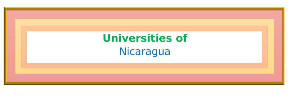 List of Universities in Nicaragua