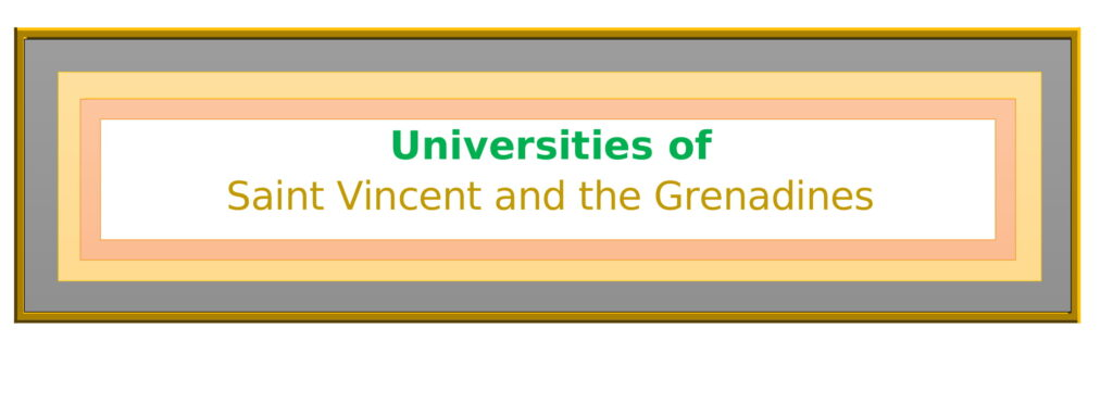 List of Universities in Saint Vincent and the Grenadines