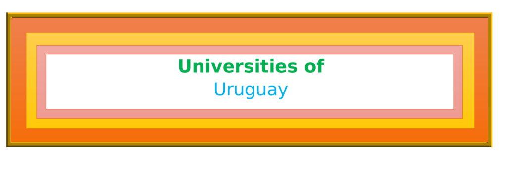 List of Universities in Uruguay