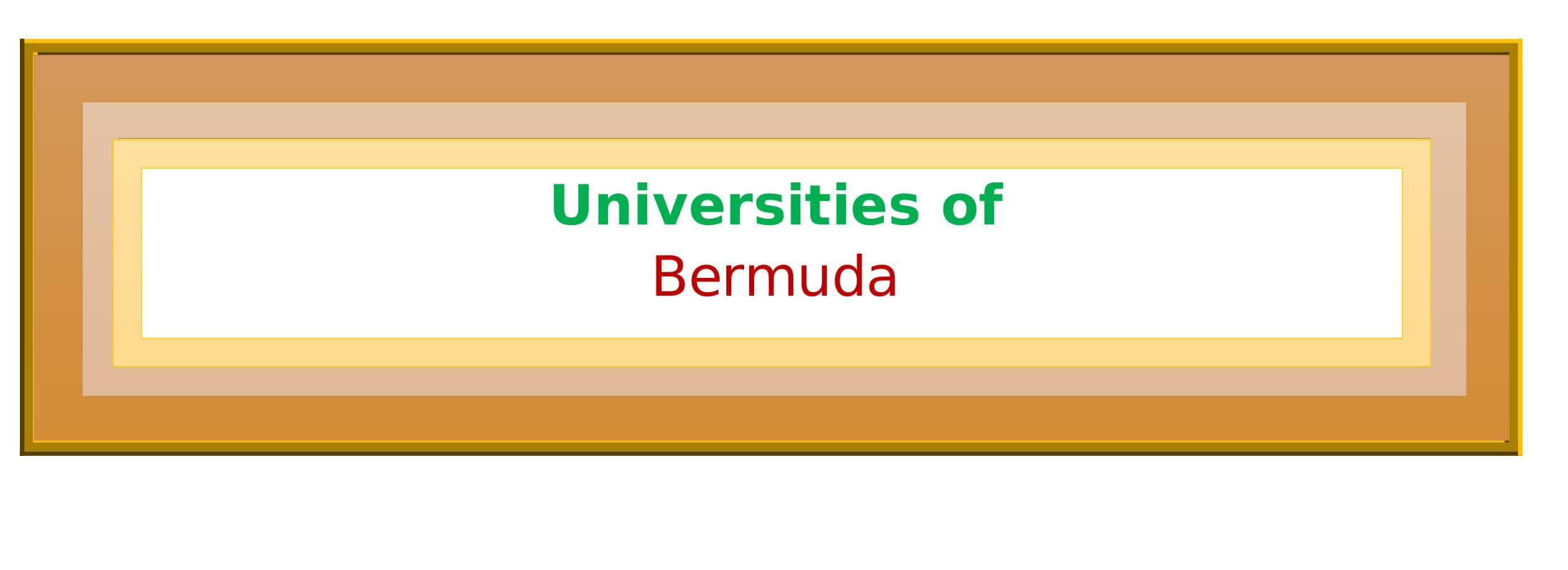 List of Universities in Bermuda