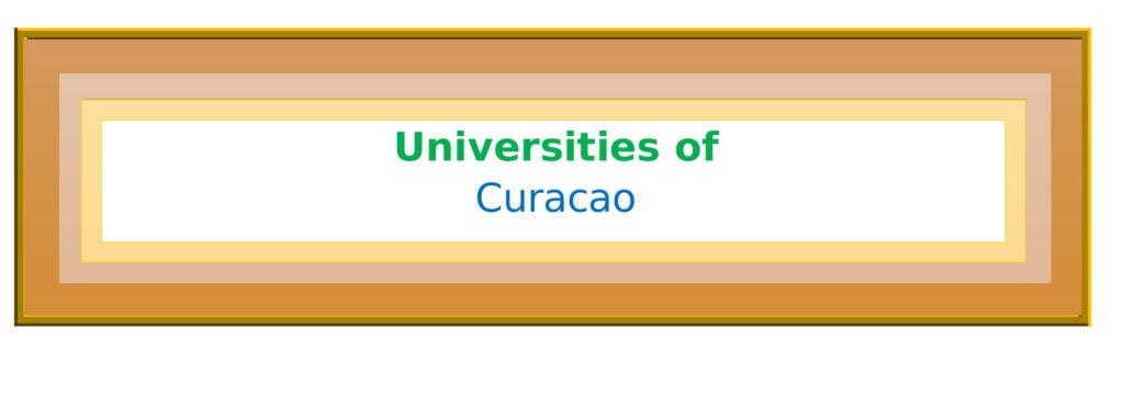 List of Universities in Curacao