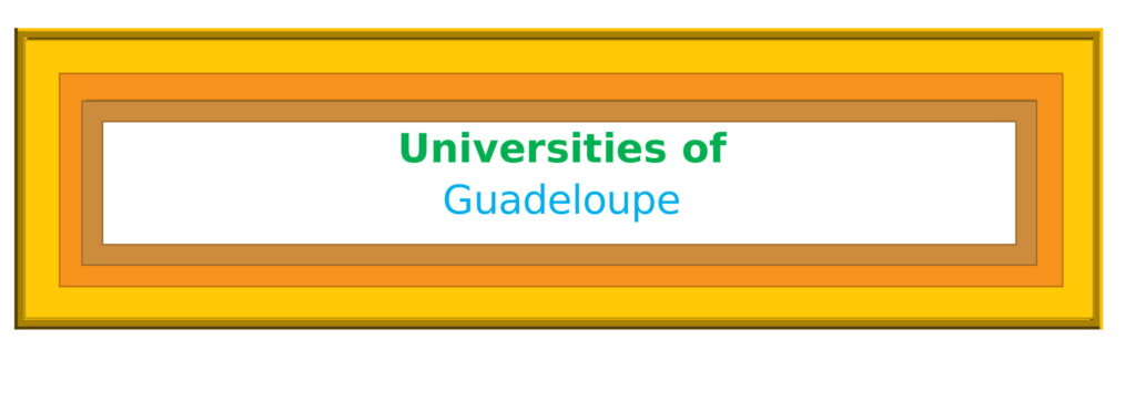List of Universities in Guadeloupe