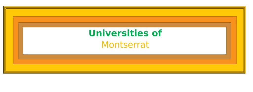 List of Universities in Montserrat