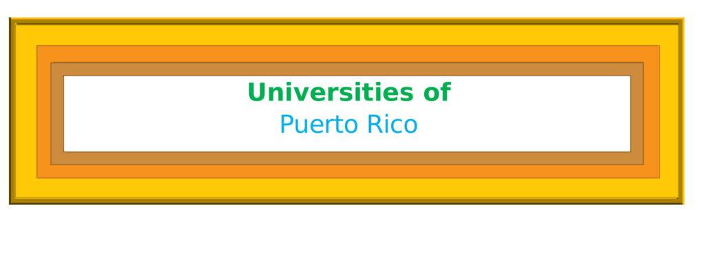 List of Universities in Puerto Rico