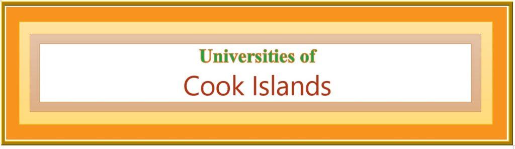 List of Universities in Cook Islands