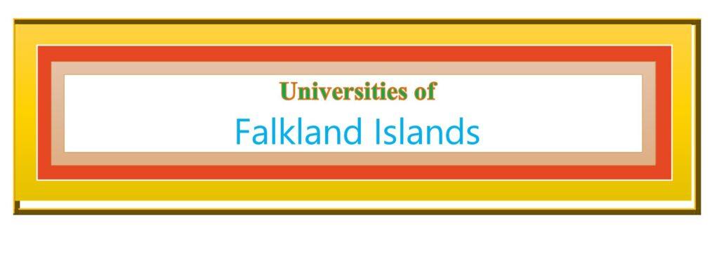 List of Universities in Falkland Islands
