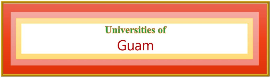 List of Universities in Guam