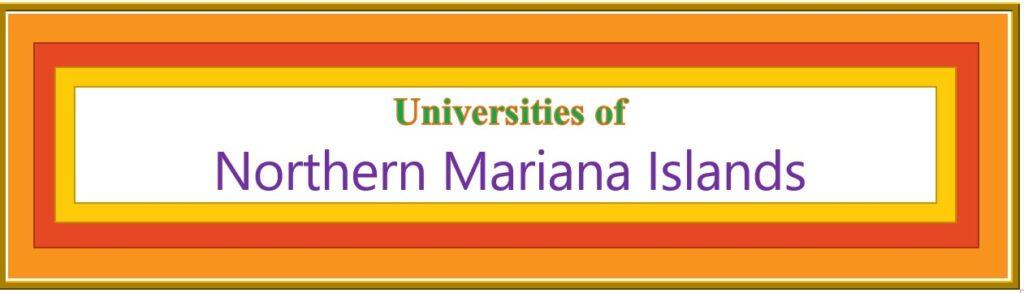 List of Universities in Northern Mariana Islands