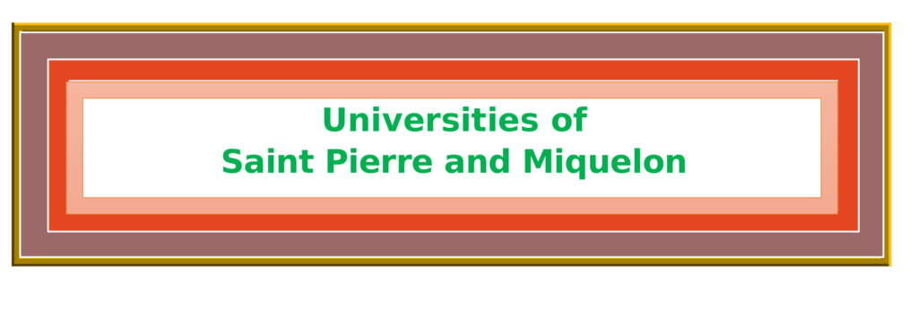 List of Universities in Saint Pierre and Miquelon