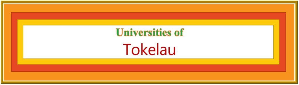 List of Universities in Tokelau