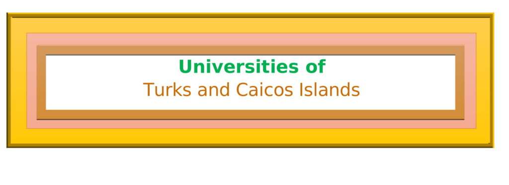 List of Universities in Turks and Caicos Islands