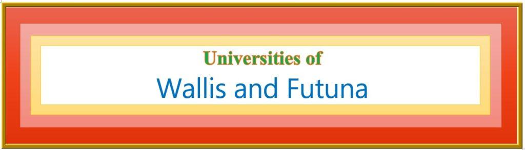 List of Universities in Wallis and Futuna